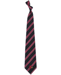 Eagles Wings Louisville Cardinals Poly 1 Tie