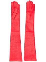 N 21 No21 Long Gloves Red