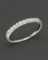 Bloomingdale's Diamond Band Ring In 14K White Gold .25 Ct. T.W.