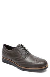 Rockport Men's Total Motion Fusion Wingtip New Griffin Leather