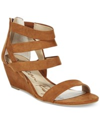American Rag Casen Demi Wedge Sandals Only At Macy's Women's Shoes Chestnut