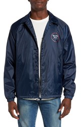 Brixton Men's 'Wheeler' Coaches Jacket Navy