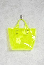 Forever 21 Clear Neon Mini Tote Bag