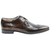 Oliver Sweeney Buxhall Patent Brogue Derby Shoes Brown