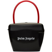 Palm Angels Black Padlock Bag