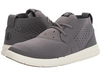 Volcom Draft Mid Neutral Grey Men's Lace Up Casual Shoes Gray