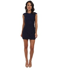 Alejandra Sky Cassie Lace Dress Navy Women's Dress