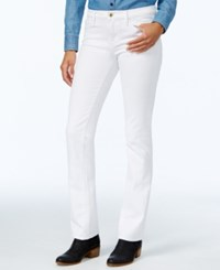 Tommy Hilfiger Midnight Blue Wash Straight Leg Jeans Only At Macy's White