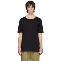 Christophe Lemaire Black Rib Knit T Shirt