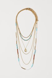 Handm H M 6 Pack Necklaces Gold