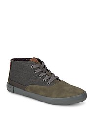 Ben Sherman Percy Heathered High Top Sneakers Heather Grey