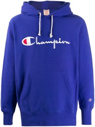 Champion Logo Embroidered Hoodie 60