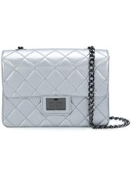 Designinverso Quilted Shoulder Bag Grey