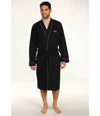 Hugo Boss Innovation 1 Cotton Kimono Robe Black Men's Robe