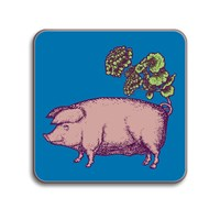 Avenida Home Puddin' Head Animaux Placemat Pig