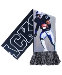 Forever Collectibles Bo Jackson Los Angeles Raiders Sublimated Player Scarf Black Gray