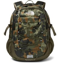 The North Face Borealis Camouflage Print Canvas Backpack Army Green