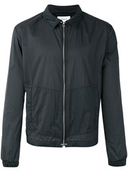 Christophe Lemaire Elasticated Cuffs Lightweight Jacket Black