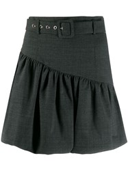 Pinko Puffball Skirt Black