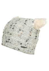 Barts Poukie Hat Cream Light Grey