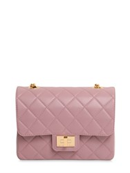 Designinverso Milano Quilted Pvc Shoulder Bag