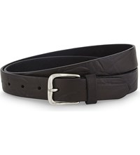 The Kooples Vintage Leather Belt Bla01