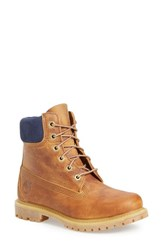 Timberland Women's '6 Inch Premium' Waterproof Boot Marigold Leather