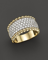Bloomingdale's Diamond Band Ring In 14K Yellow Gold 1.25 Ct. T.W.