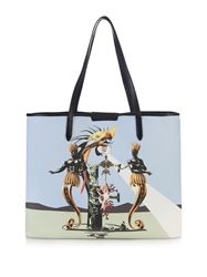 Mary Katrantzou E Melina Coated Canvas Tote