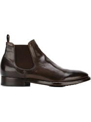 Officine Creative 'Princeton' Chelsea Boots Brown