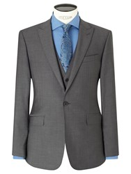 Richard James Mayfair Tonic Sheen Slim Suit Jacket Charcoal