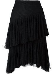 Philosophy Di Lorenzo Serafini Layered Lace Skirt Black