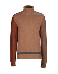 Massimo Alba Knitwear Turtlenecks Men Orange