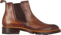 Harris Burnished Chelsea Boots Brown Size 7