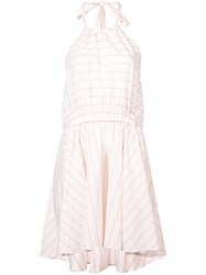 Lemlem Aweke Halterneck Dress White