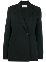 The Row Classic Fitted Blazer Black