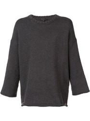 Iro Dropped Shoulder Jumper Grey
