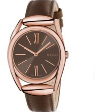 Gucci Horsebit 34Mm Watch Brown