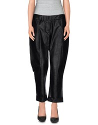 Odi Et Amo Trousers Casual Trousers Women Black