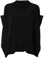 Y's Flared Blouse Black