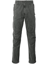 Mhi Maharishi Tapered Cargo Trousers Grey