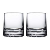 Nude Alba Whisky Glass Set Of 2 Sof