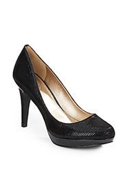 Circa Joan And David 'Pearly' Snake Embossed Leather Platform Pumps