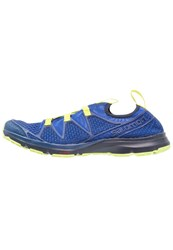 Salomon Crossamphibian Neutral Running Shoes Nautical Blue Blue Depths Lime Punch Dark Blue