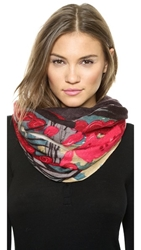 Yarnz Forest Scarf Black Multi