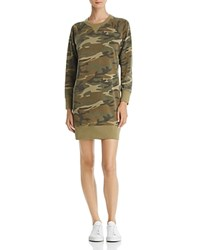 Alternative Apparel Camo Sweatshirt Dress