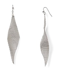 Jules Smith Designs Jules Smith Mesh Wave Earrings Silver
