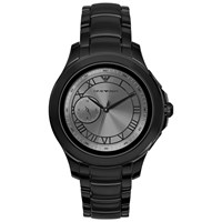 Emporio Armani Connected 'S Bracelet Strap Touch Screen Smartwatch Black Grey Art5011