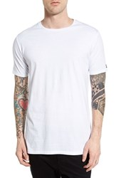 Zanerobe Men's 'Flintlock' Crewneck T Shirt White