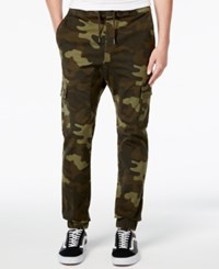 American Rag Men's Camo Print Jogger Pants Only At Macy's Camo Olive
